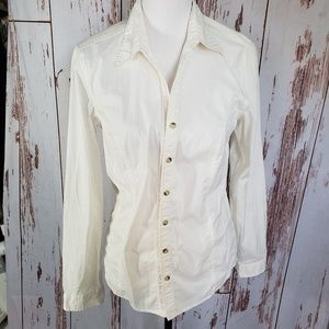 Women Columbia Sportswear medium button shirt top